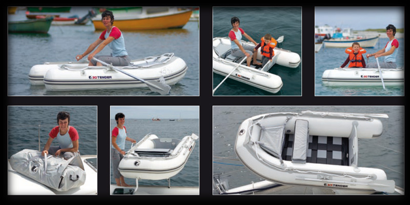 3d tender for Salon nautique barcelone